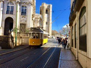 Lisbon, Alfama, tram, charming,