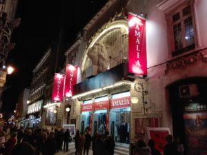 Teatro Politeama, Amalia Rodrigues, Fado, Musical, Lisbon