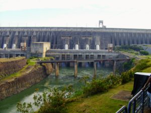 Itaipu Dam, hydroelectric power plant, iguazu, argentina, brasil