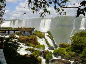 iguazu, argentina, brasil, waterfalls