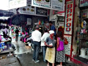 Port Louis, Mauritius, street life, central market, Capital, shopping