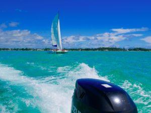 Ile aux Cerfs, paradise, Mauritius, sailing in Mauritius,
