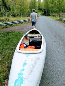 canoeing, Skillingarryd, Småland, Sweden, sailing, paddeling, lake, passportplease