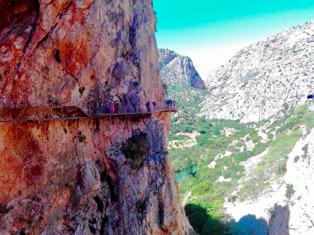 caminito del rey, malaga, adrenalin hike, Spain, Andelucía