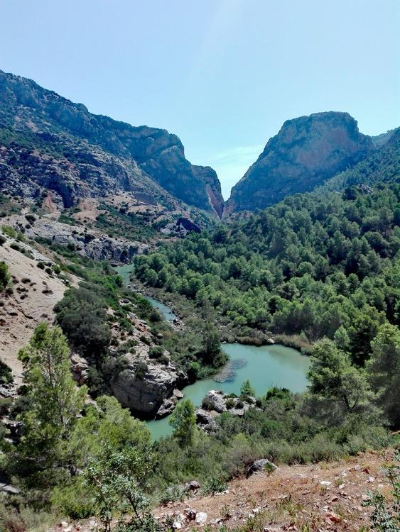 spain, malaga, Andalucía, caminito del rey