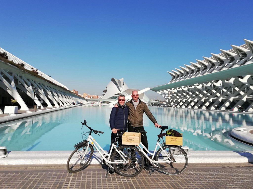 Calatrava, CAC, Ciudad de las artes y las ciencias, Valencia, Spain, Iberia, biking