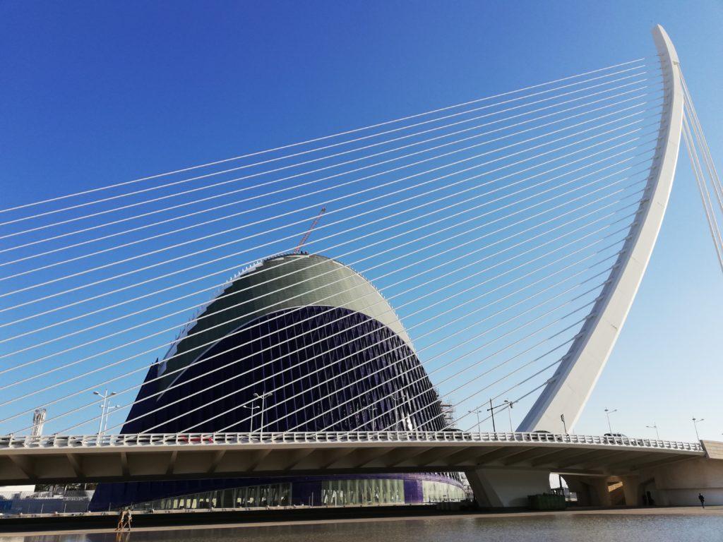 Calatrava, CAC, Ciudad de las artes y las ciencias, Valencia, Spain, Iberia, biking, L´Agora, Turia river Valencia