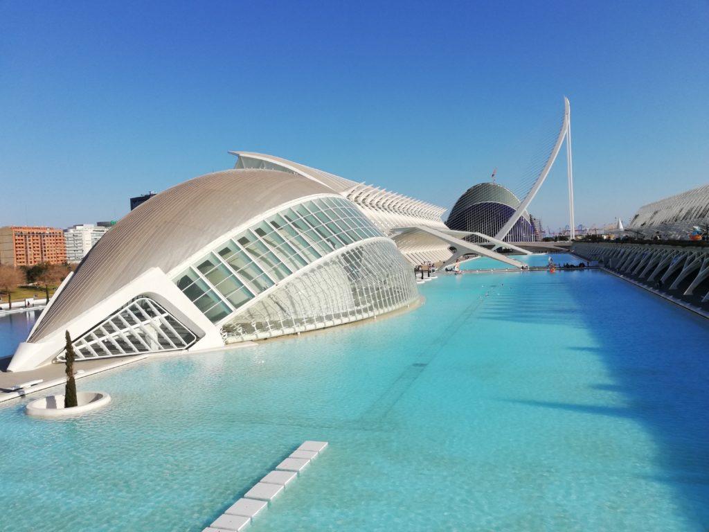 Calatrava, CAC, Ciudad de las artes y las ciencias, Valencia, Spain, Iberia, biking, L´Hemisferic, El Museo de las Ciencias Principe Felipe