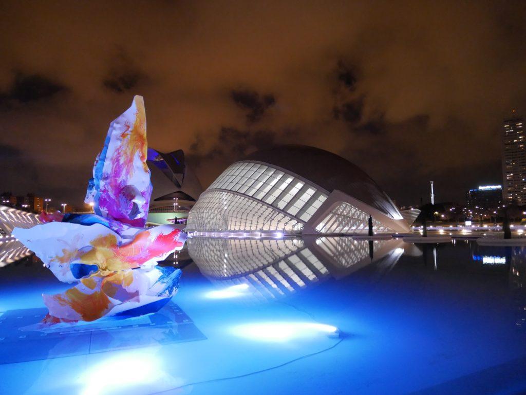 Calatrava, CAC, Ciudad de las artes y las ciencias, Valencia, Spain, Iberia, biking, L´Hemisferic, IMAX