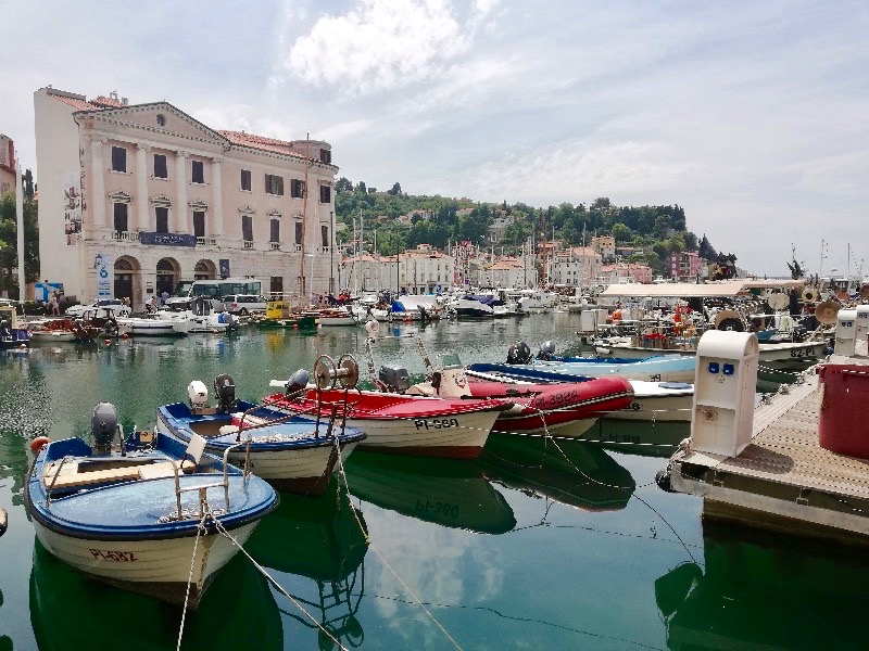 Harbor, Piran Slovenia, Slovenia