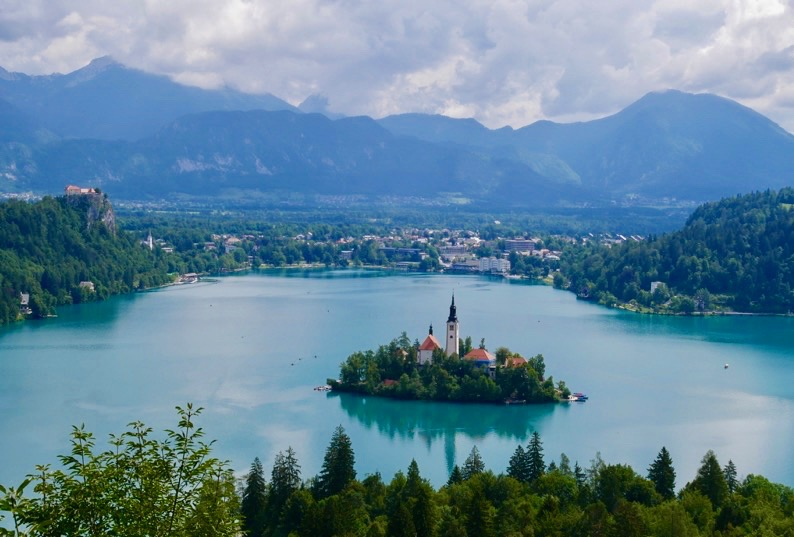 Lake Bled Slovenia, Slovenia, Mala Osojnica, lake, view point