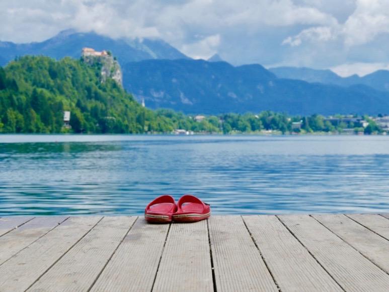Lake Bled Slovenia, lake, Bled, Slovenia, swim