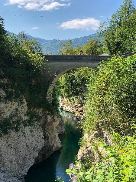 Napoleon bridge, slovenia