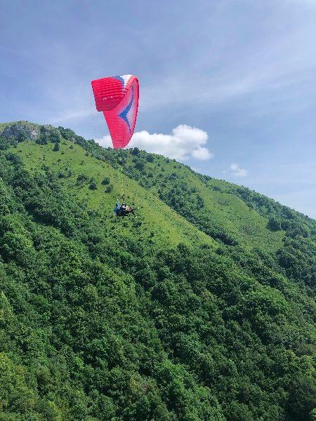 Soca valley, paragliding, slovenia