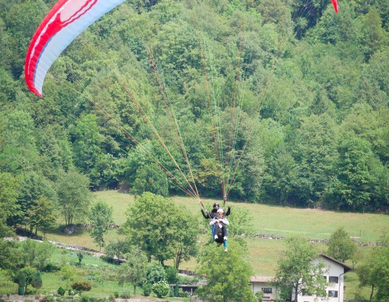 paragliding, soca valley