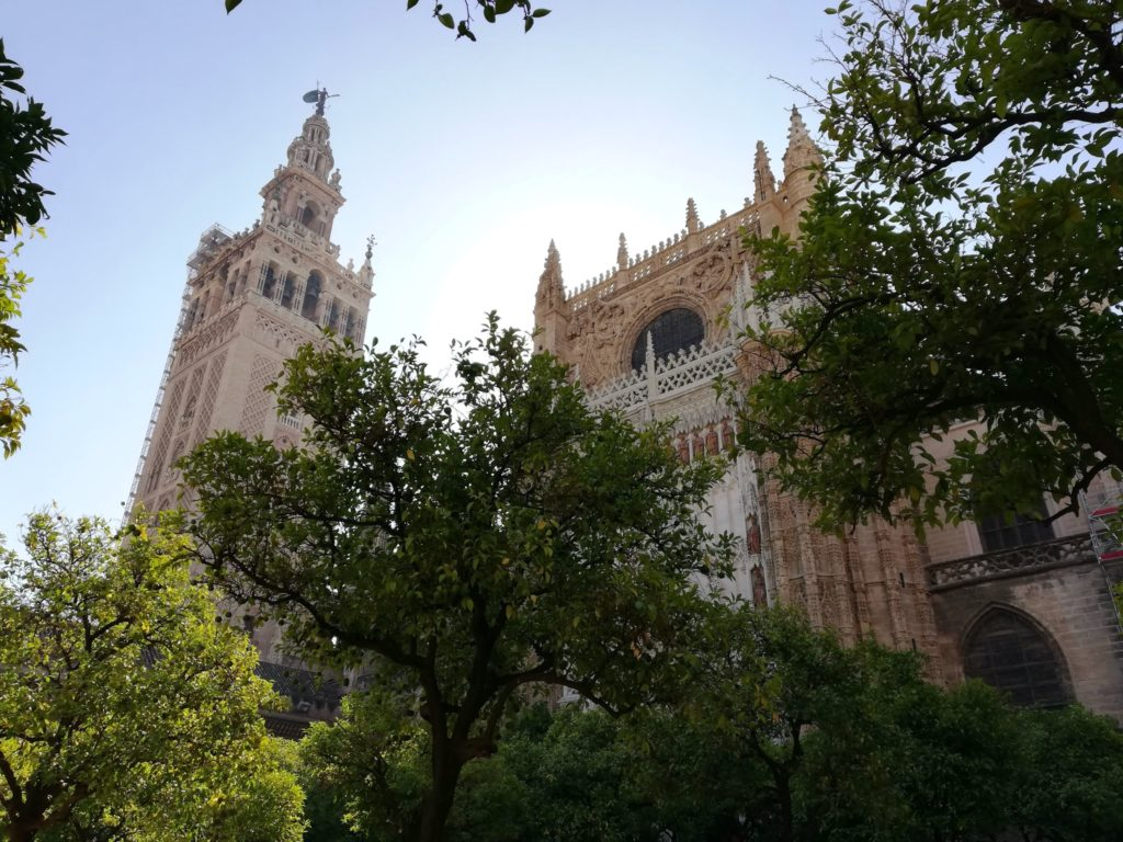 The cathedral, Seville