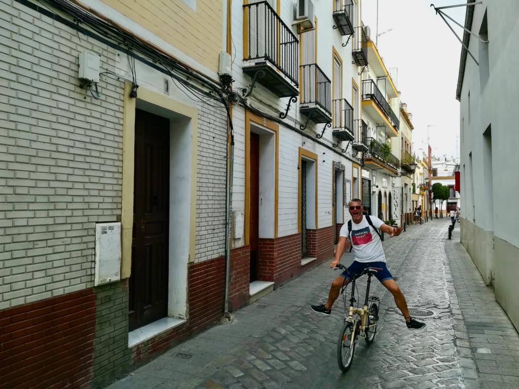 Biking, seville
