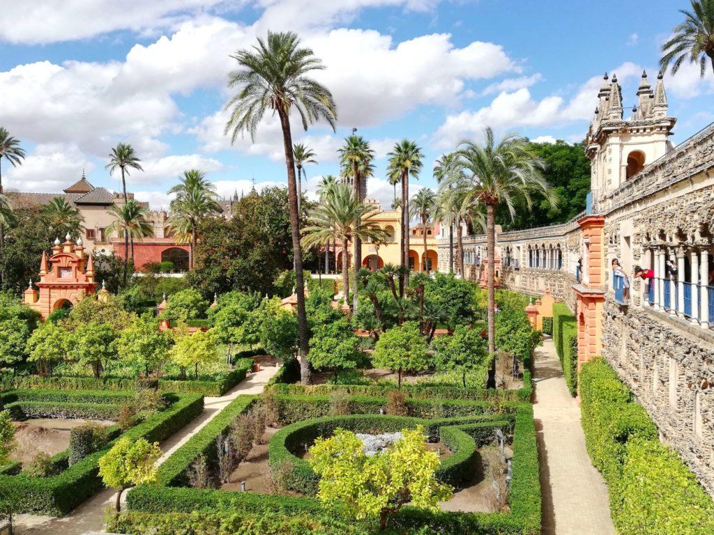 Alcazar de Sevilla, Seville. Game og Thrones in Sevilla