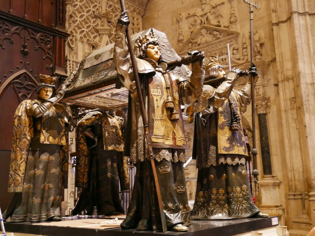 The tomb of Christopher Colombus
